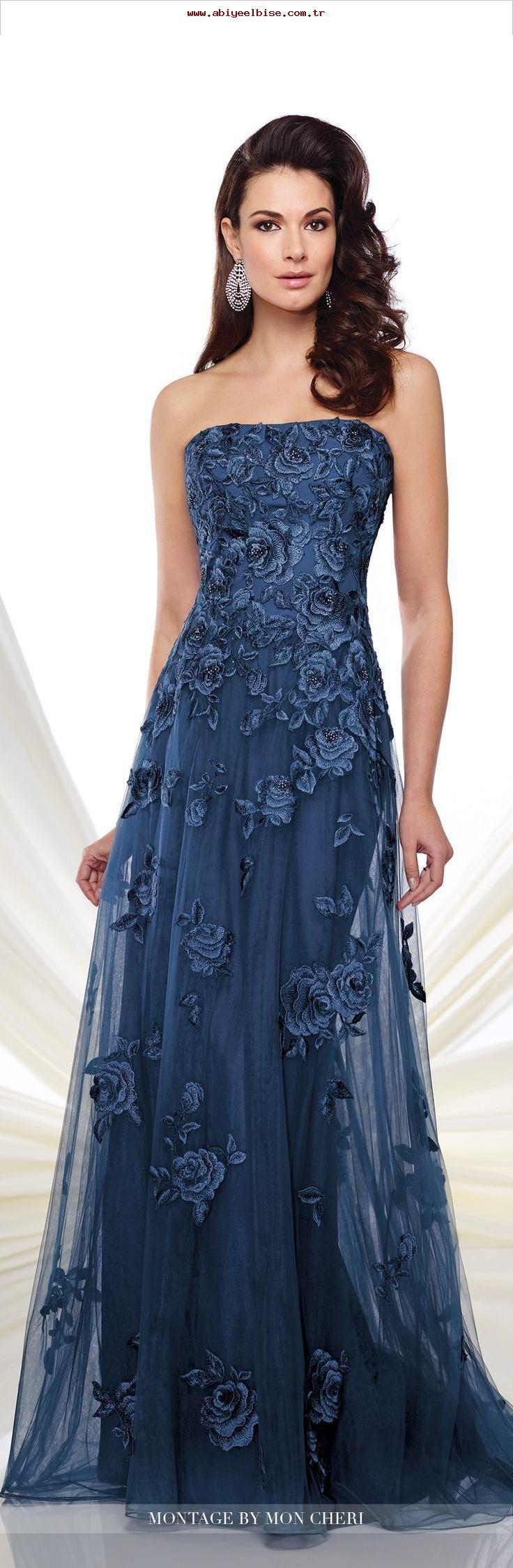 Formelle Abendkleider von Mon Cheri - Herbst 8 - Stil Nr