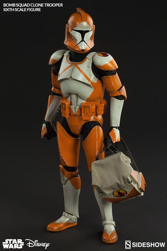 Bomb Squad Clone Trooper Sixth Scale Figure Final Production Gallery