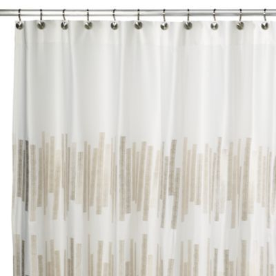 Kenneth Cole Reaction® Home Frost Shower Curtain   BedBathandBeyond.com    $60