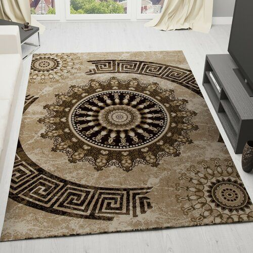 World Menagerie Brown Area Rug