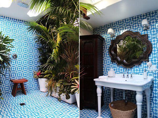 Idées de déco salle de bain inspirée par l\u0027été