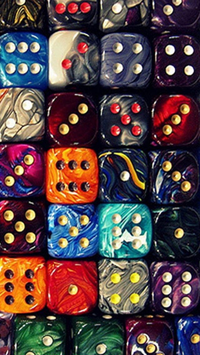 TAP AND GET THE FREE APP! Art Colorful Dice Game Bright HD