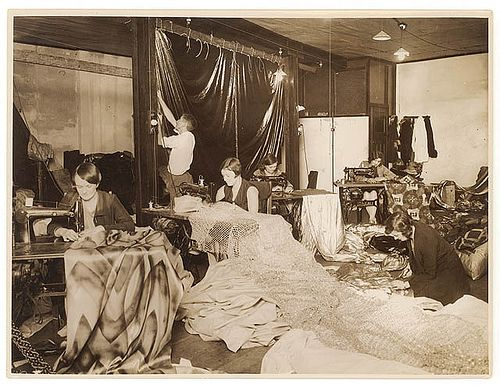 Sewing For A Production C 1930s By Sam Hood Craft Images Do