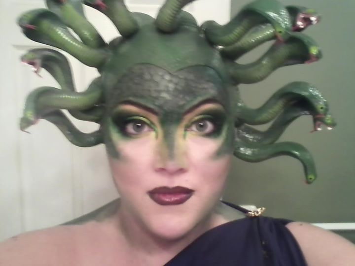 Medusa. Makeup Halloween makeup and costume by Jenny | Hair ...