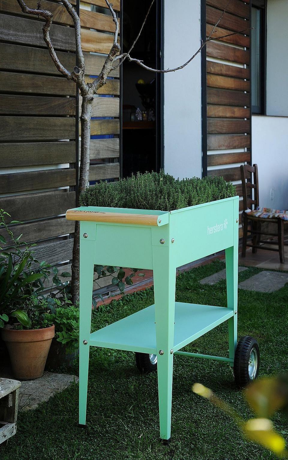 Herstera Garden Hochbeet Barcelona Liso Bxtxh 75x35x80 Cm Online Kaufen Blumenbeet Hochbeet Gartenbau