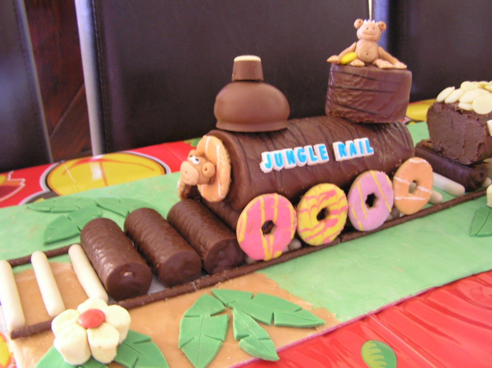 Image Result For Train Birthday Cake Swiss Roll