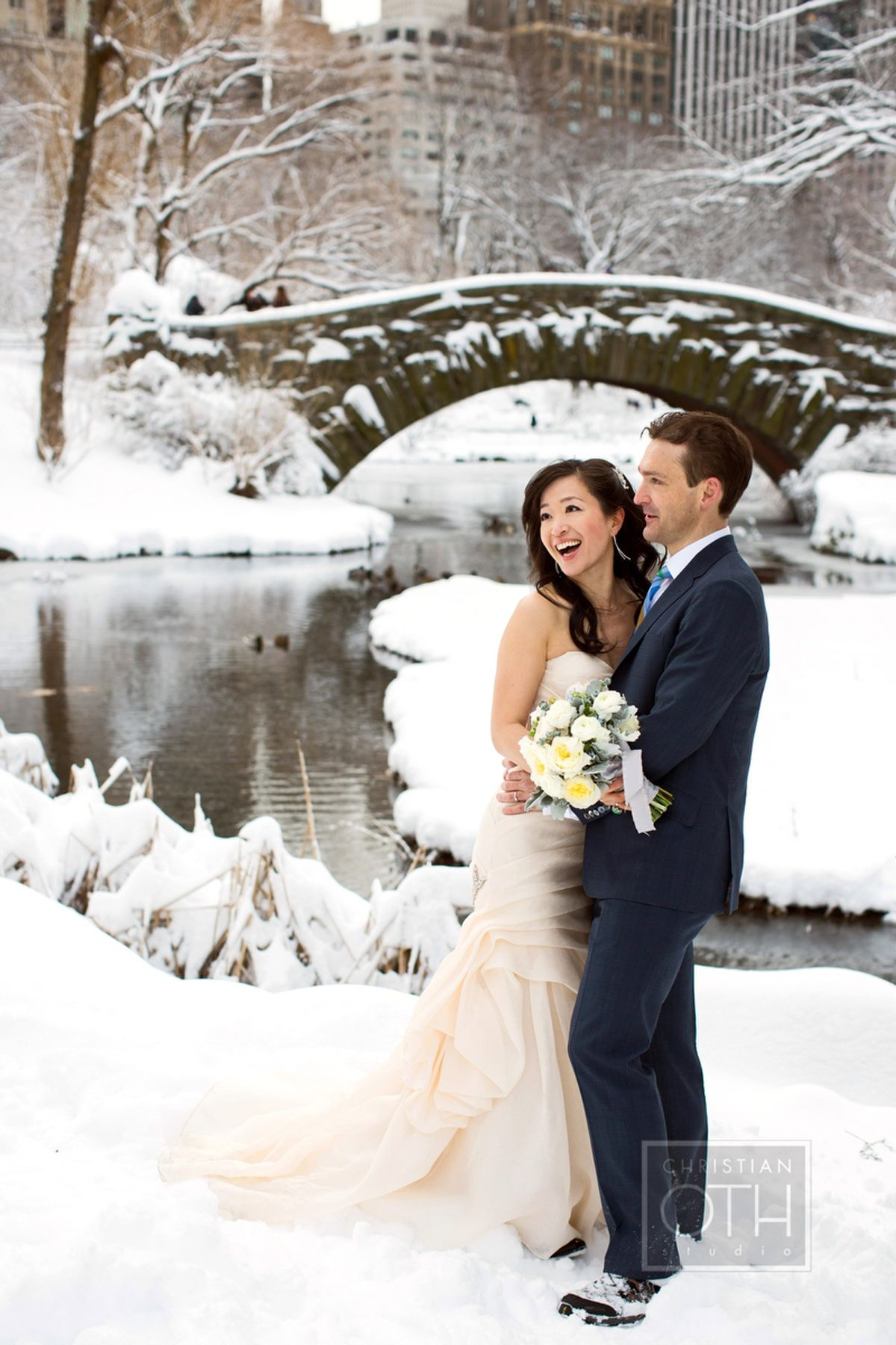 MN Winter Wedding Photography