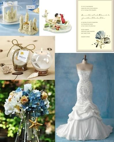 Mermaid Themed Wedding Disney Little Candimere S Mind