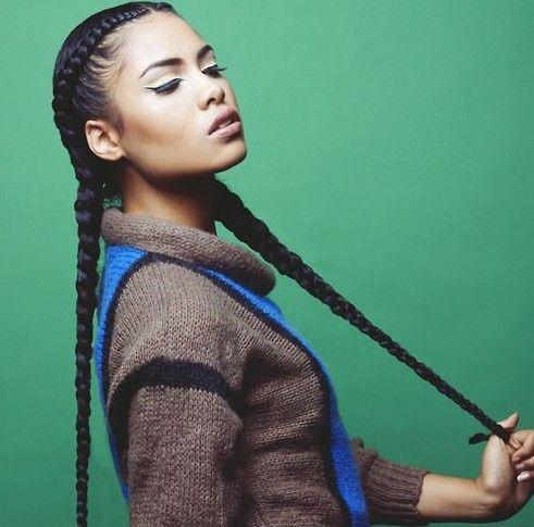 coiffures afro pour le sport Coiffure cheveux naturels