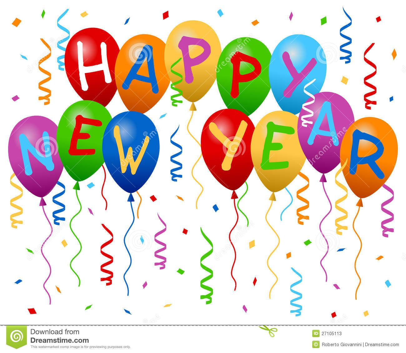 Happy New Year Stock Photos, Images, & Pictures