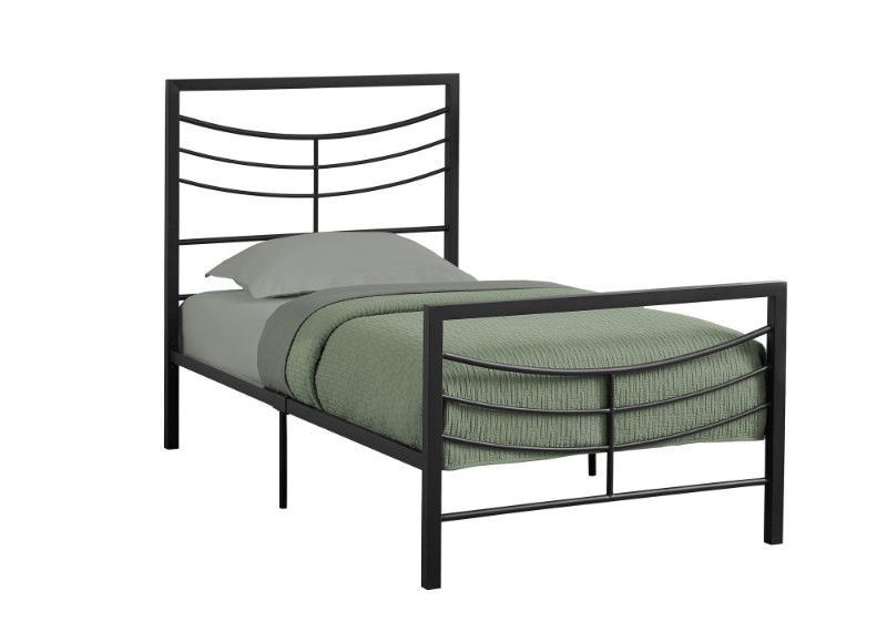 Bed Twin Size Black Metal Frame Only Black Twin Bed Frame Black Bedding Twin Size Bed Frame