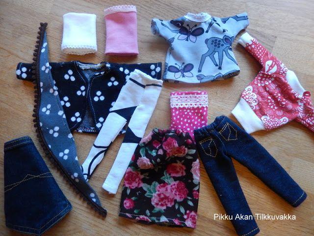 Pikku Akan Tilkkuvakka: Vaatteita nukkeleikkeihin