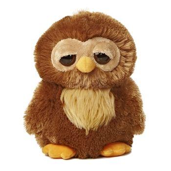 Starbright The Dreamy Eyes Brown Owl Stuffed Animal By Aurora