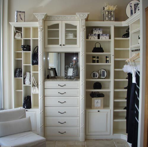 Designer Closet Cabinets And Closet Remodeling In Naples