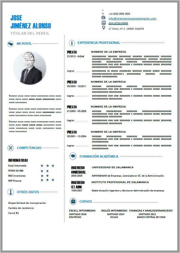 plantillas curriculum gratis premium | CURRICULUM VITAE | Pinterest ...