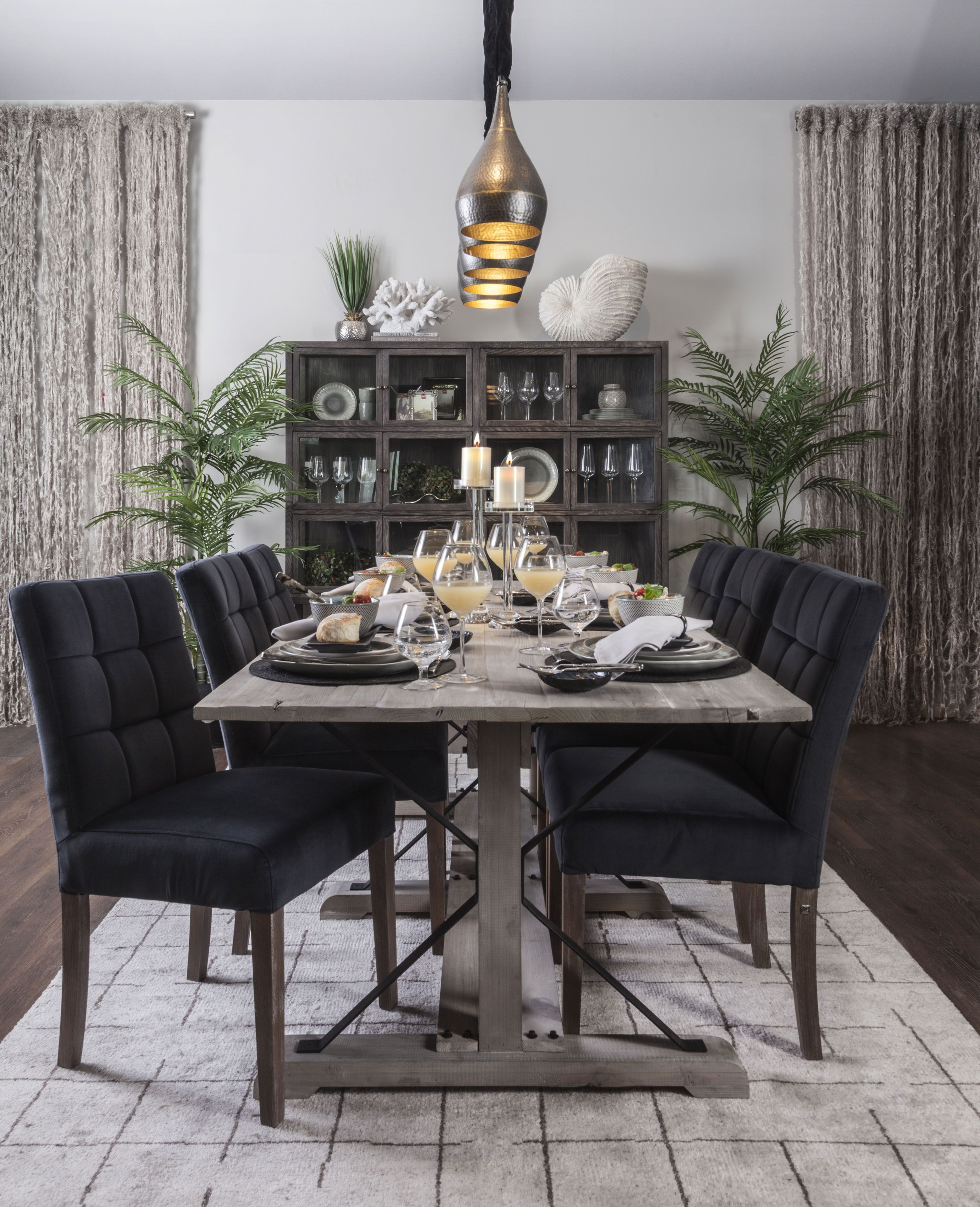 Dining Vintage Muted Earthy Colours Natural And Rustic