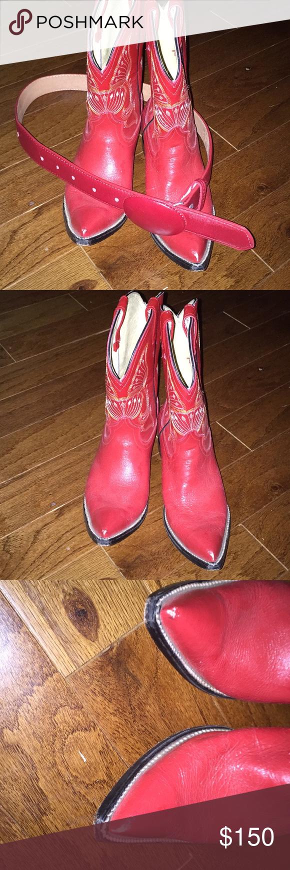 or belt Jar boots Shoes Boots