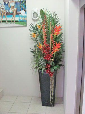 Large Artificial Floral Arrangements Large Flower Arrangements Tropical Flower Arrangements Flower Arrangements Diy
