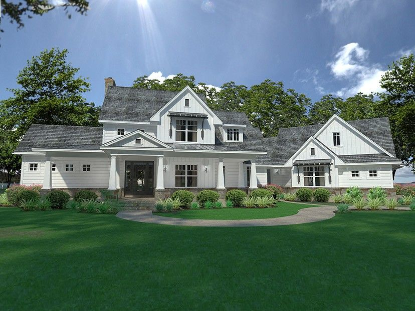 Eplans Farmhouse House Plan Contemporary With Exceptional Outdoor Living 2396 Square Feet And 3 Bedrooms From Code