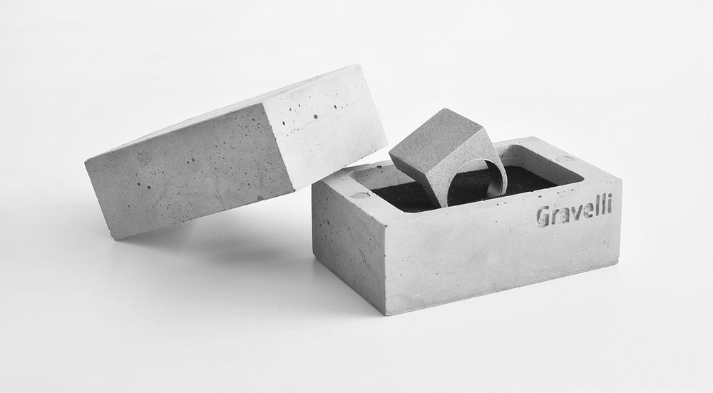 Bathroom Accessories Packaging wearable architecture: studio vacek sculpts concrete jewelry & box