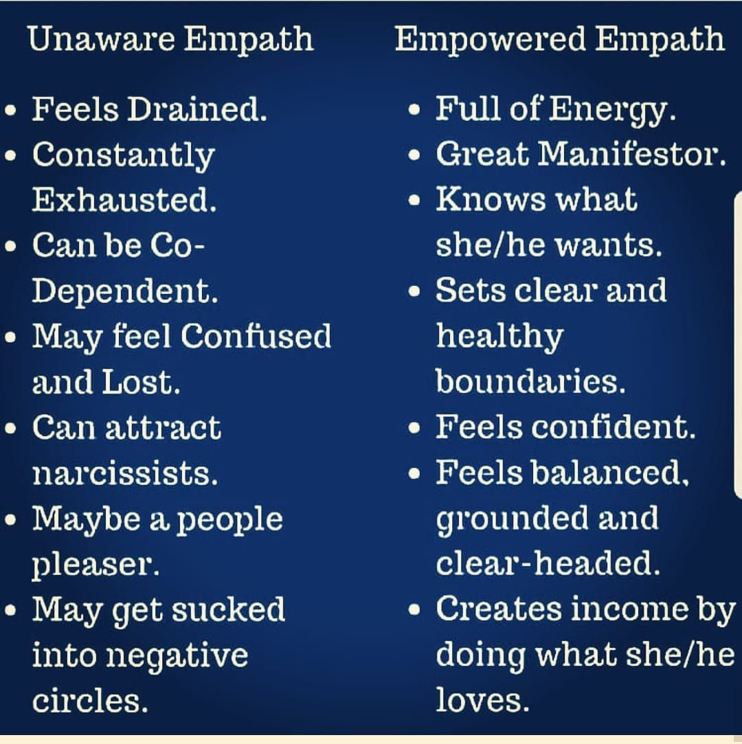 An aware empath who has suffered soul loss can also show they