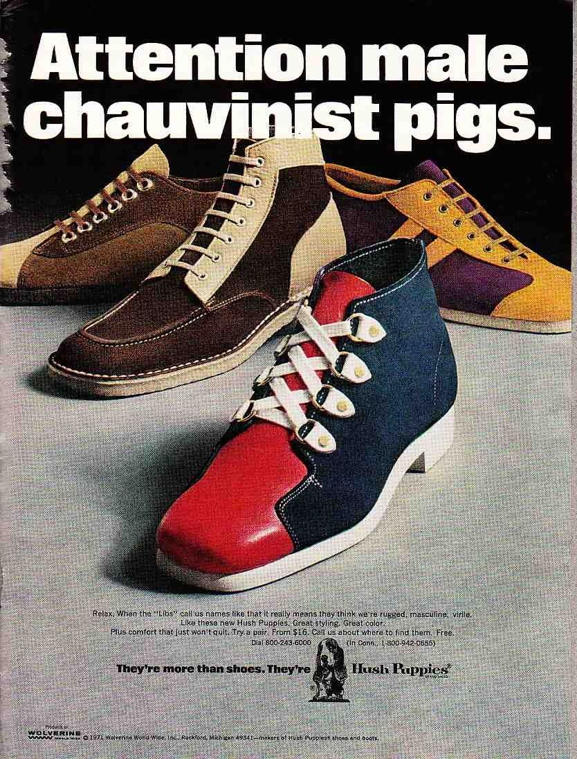 Yes!!! Shoes ads, Retro shoes, Hush puppies mens shoes