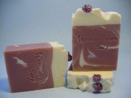 Mulberry Cocoa Butter Soap   Mountain Farms Soap