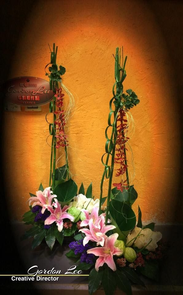 Gordon Lee Unique Floral Arrangements Floral Mechanics Floristry Design