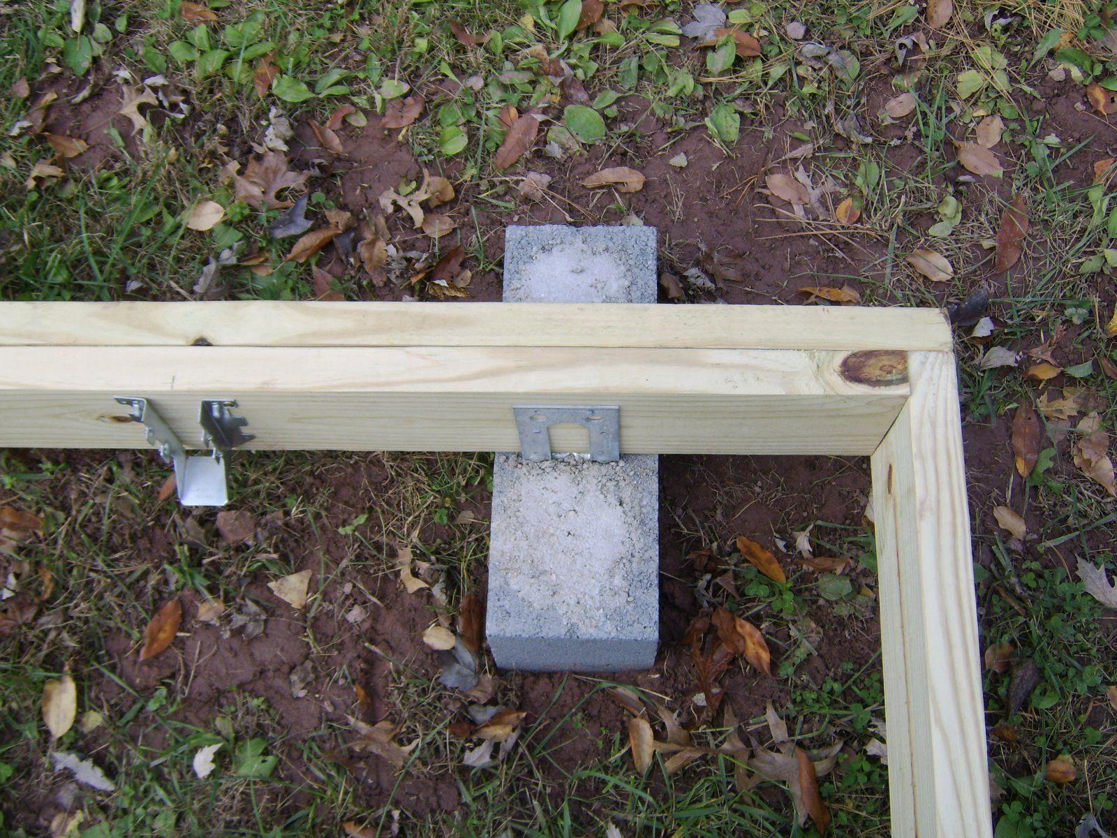 Neelapala building a ground level deck yourselves buildingadeck