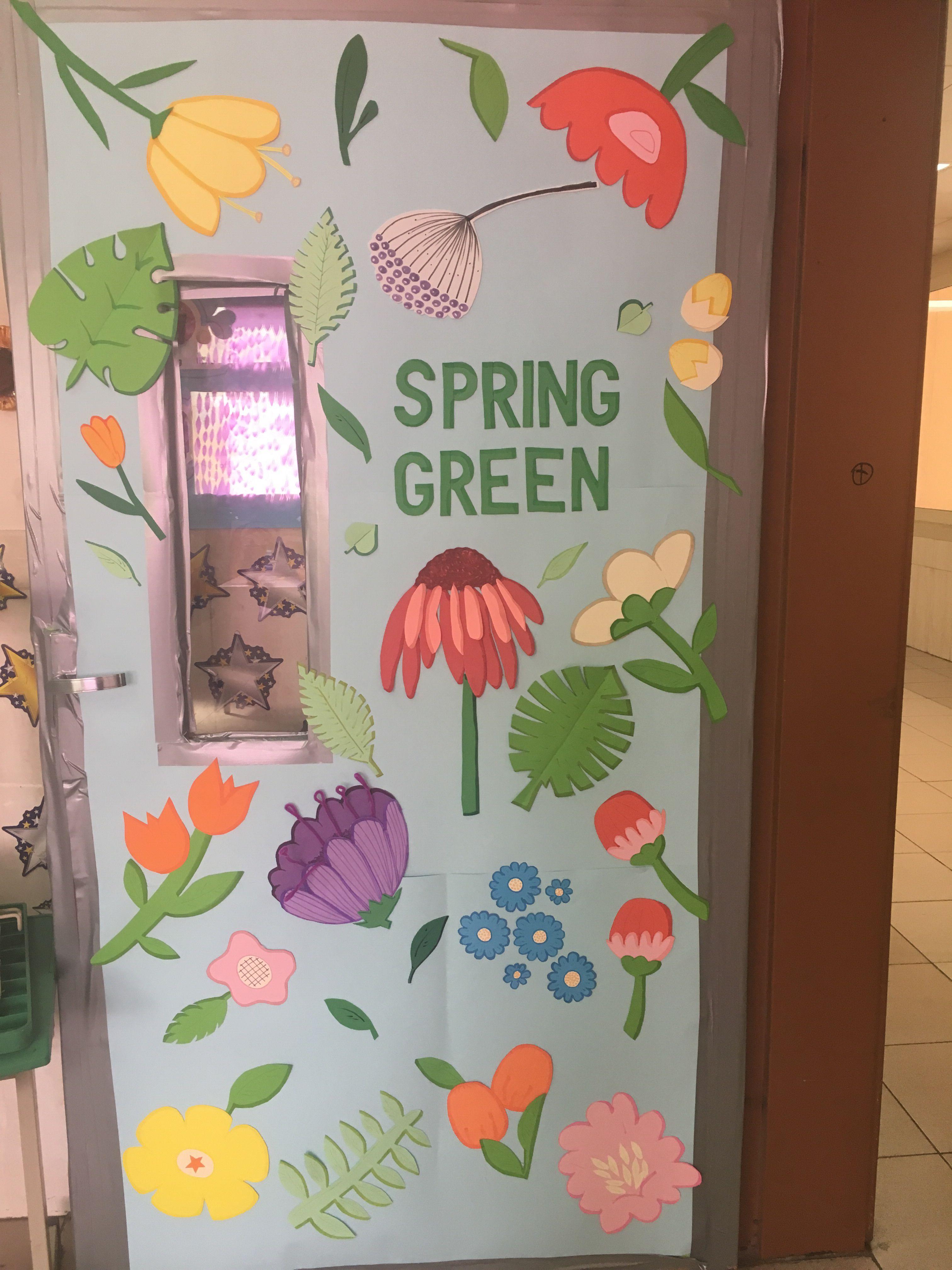 Classroom spring theme