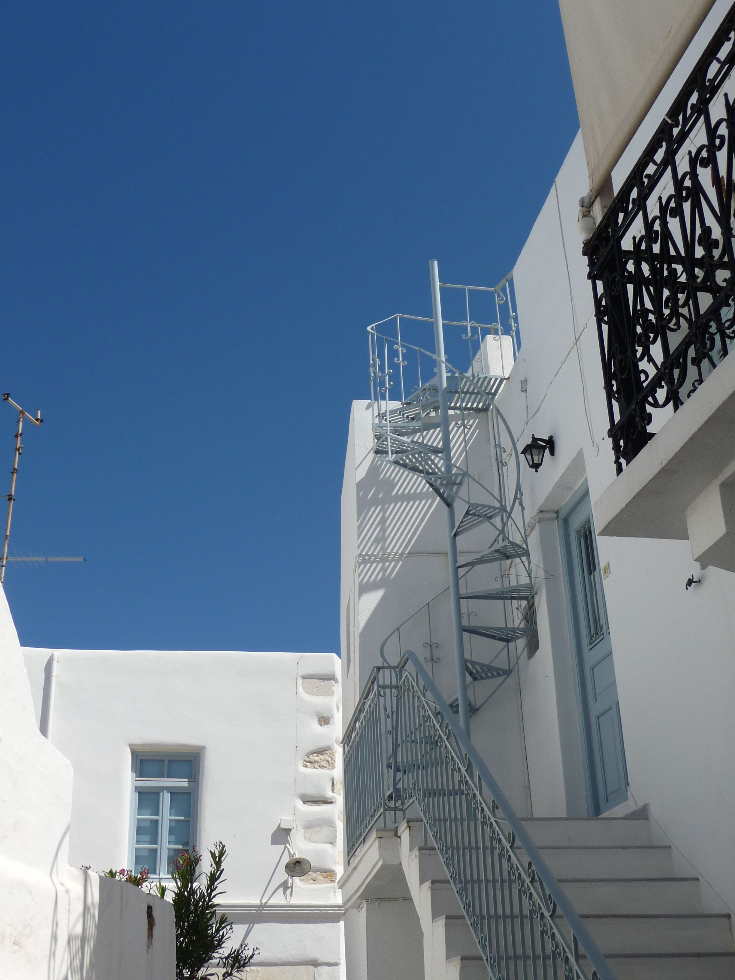 Stairway to heaven  Paros Island, Greece