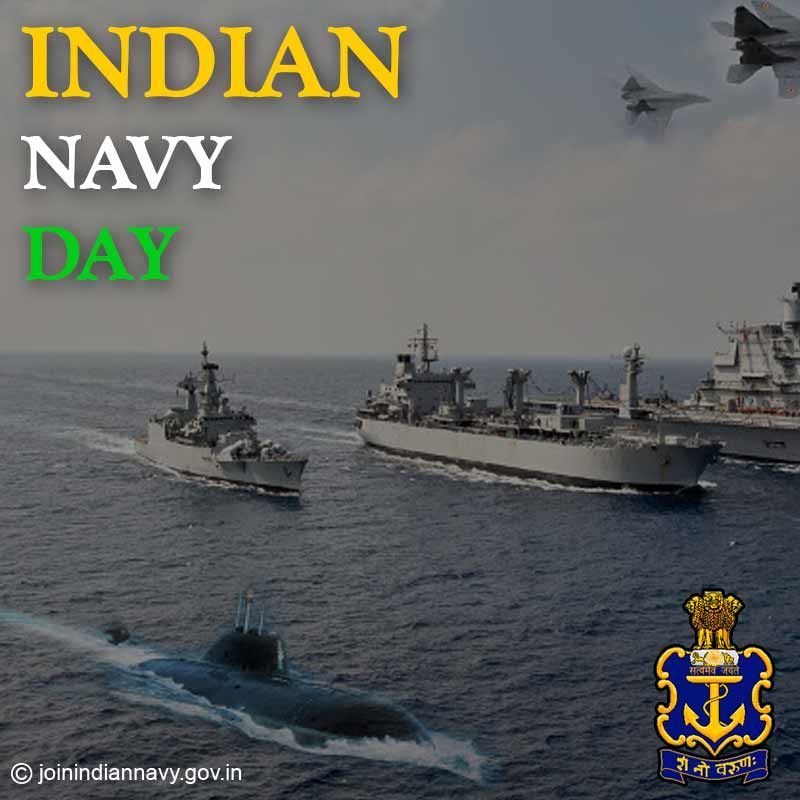 Happy Indian Navy Day Images 2019 Quotes Slogans Whatsapp Status Pic With Images Indian Navy Day Indian Navy Navy Day