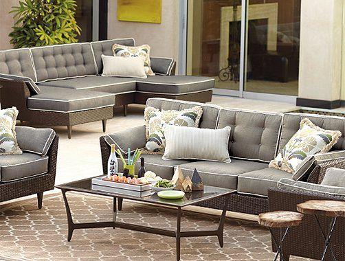 sofás de jardin de rattán sintético. Muebles de exterior   Muebles ...