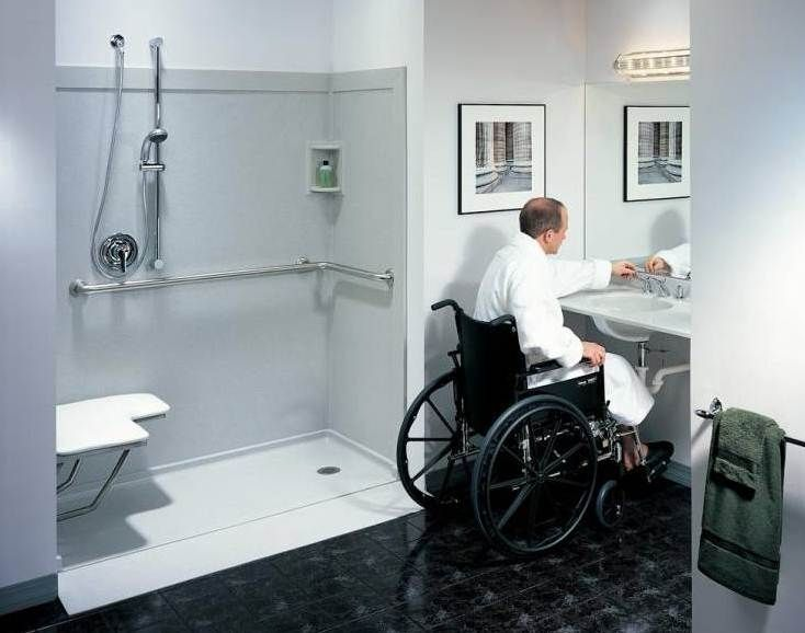Modern Bathroom For Disabled People Bathrooms Pinterest Modern Bathroom Designs And Tiny