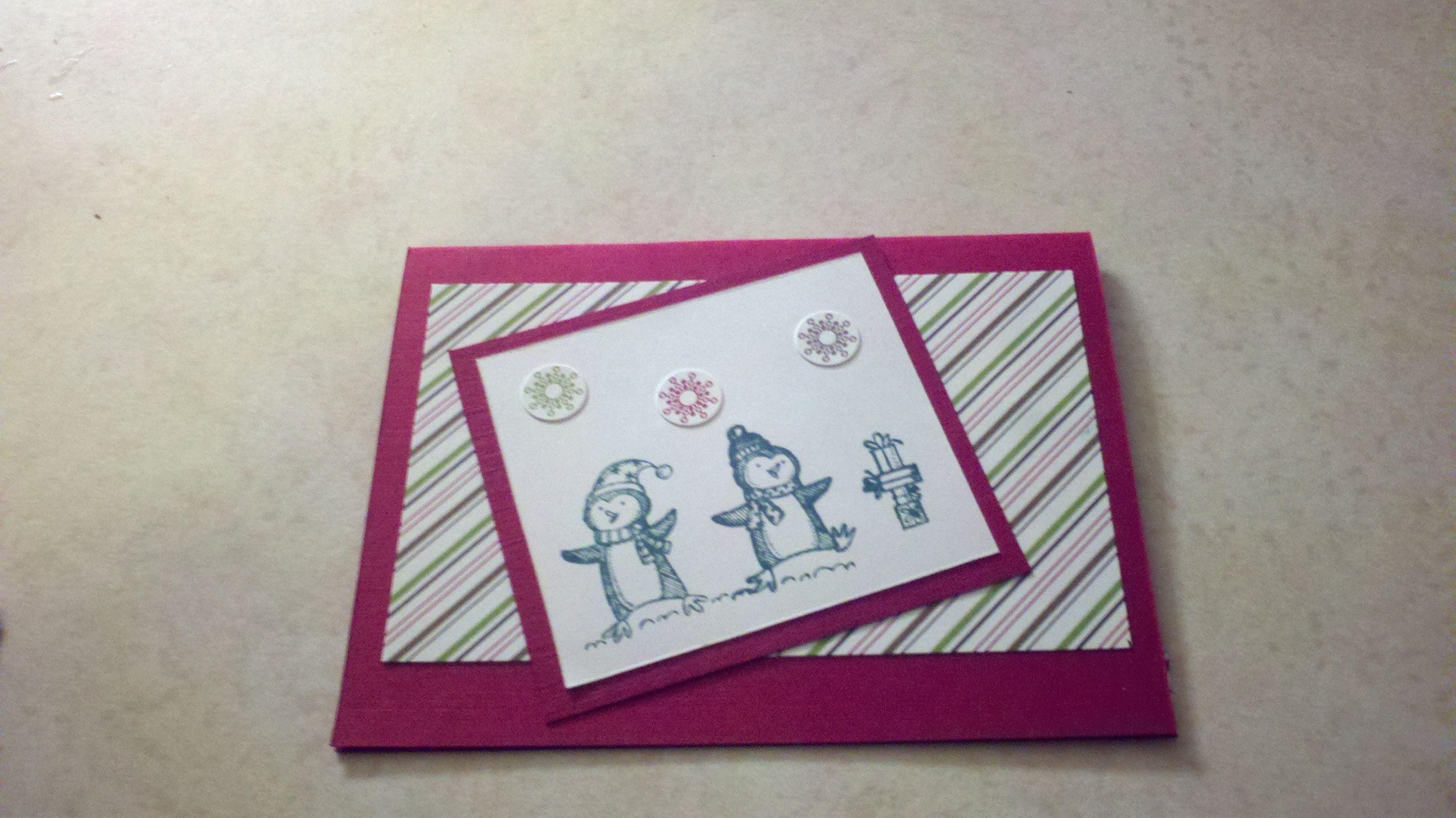 Christmas card card making pinterest card ideas
