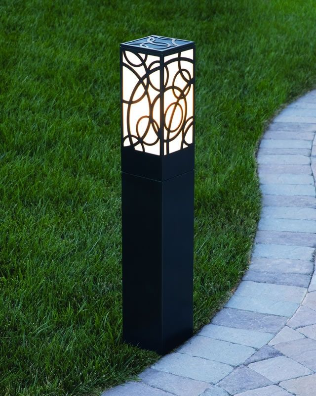 Bollard Light On Pinterest Led Pathways And Outdoor Lighting Outdoor Post Lights Solar Lights Garden Garden Lamps