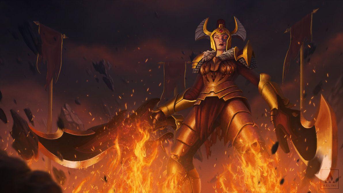 Dota 2 Legion Commander Arcana Wallpaper Widescreen Defense Of The Ancients Legion Arcanum
