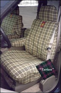 Tartan Plaid Seat Covers For New Car