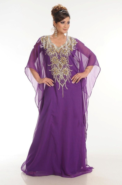 New Style abaya jalabiya Ladies Maxi Dress Evening gown Chiffon ...