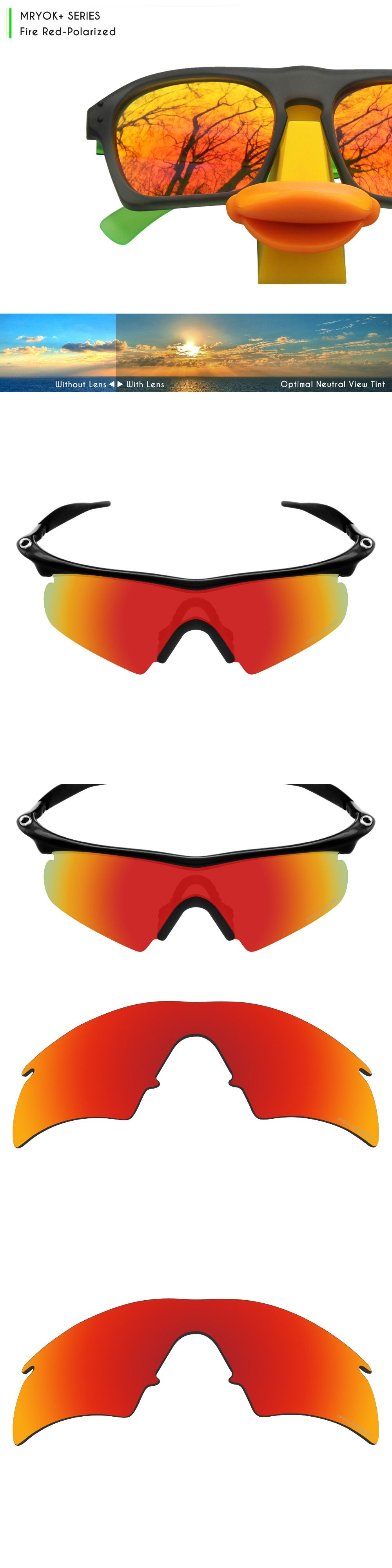 Mryok+ POLARIZED Resist SeaWater Replacement Lenses for Oakley M ...