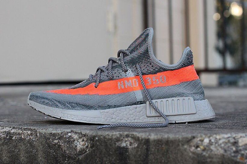 Sneaker Customizer Jake Danklefs Fuses the YEEZY BOOST 350 v2 With the  NMD_XR1