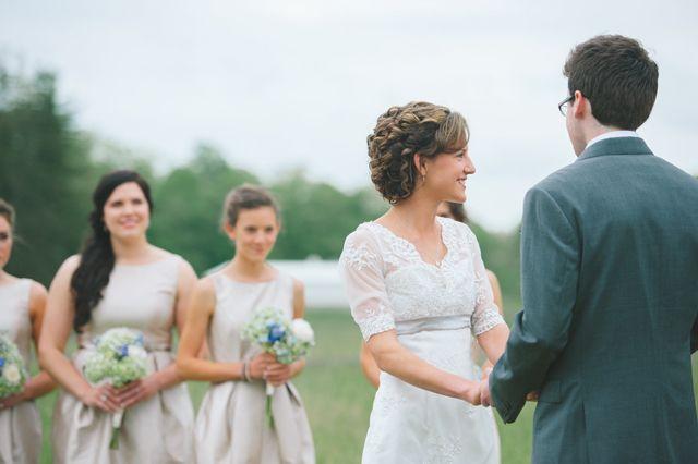"Did someone say ""Jane Austen""? || In love with this Jane Austen inspired wedding dress | Rebekah J Murray"