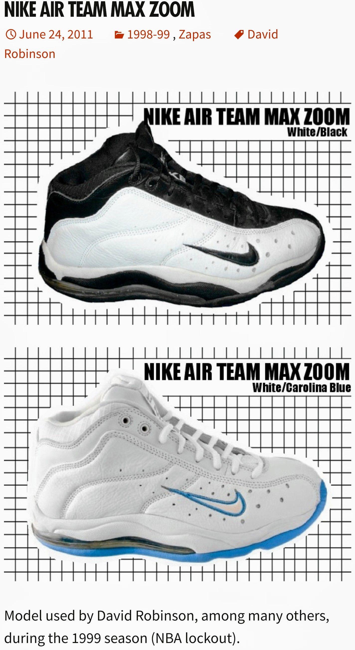 Little bit of Tim Hardaway style Nike Air Team Max Zoom