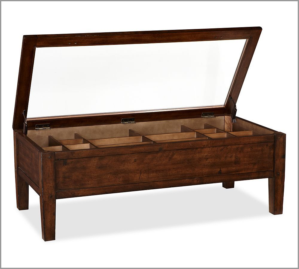 Pottery Barn Townsend Shadow Box Coffee Table 499 With