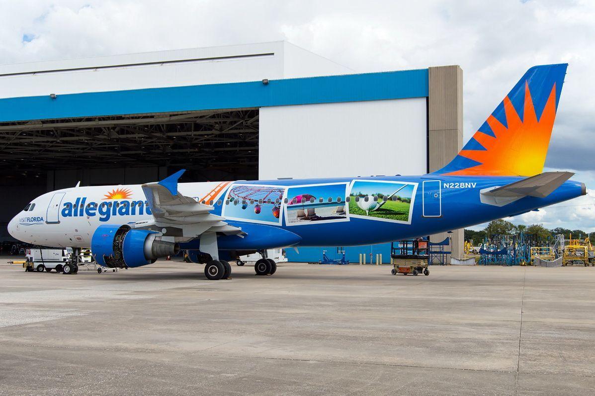 Allegiant Air Fleet Airbus A320200 Aircraft Details and
