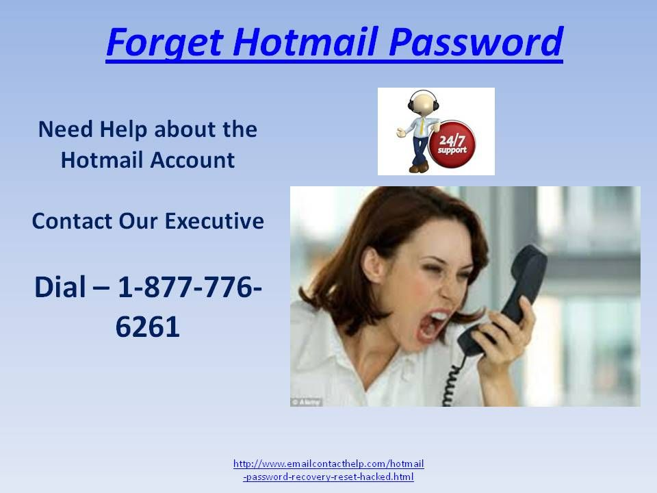 Hotmail password call now 18777766261 usa