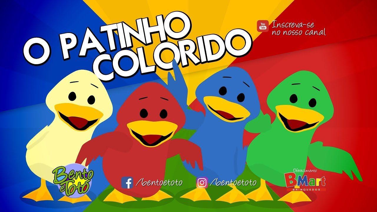 Bento E Toto O Patinho Colorido Desenho Infantil Desenhos