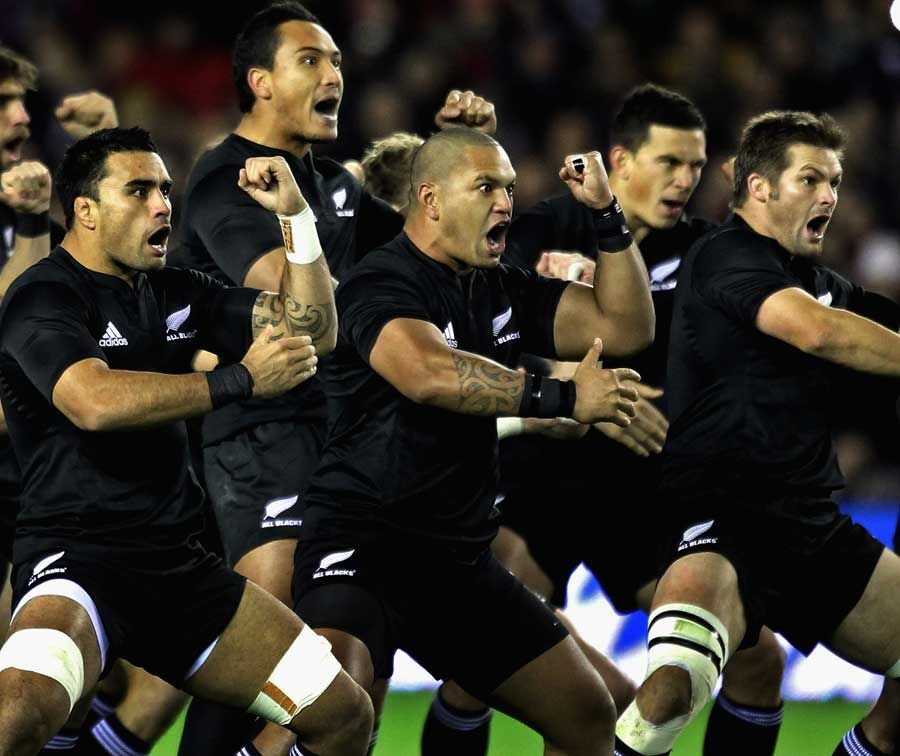 Old Black Rugby Dance: New Zealand All Blacks Pre Game Haka. The Haka Is A