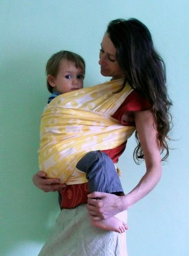 Brand New Shanty Baby Carrier Wrap Sling Size 6 7 100 Cotton