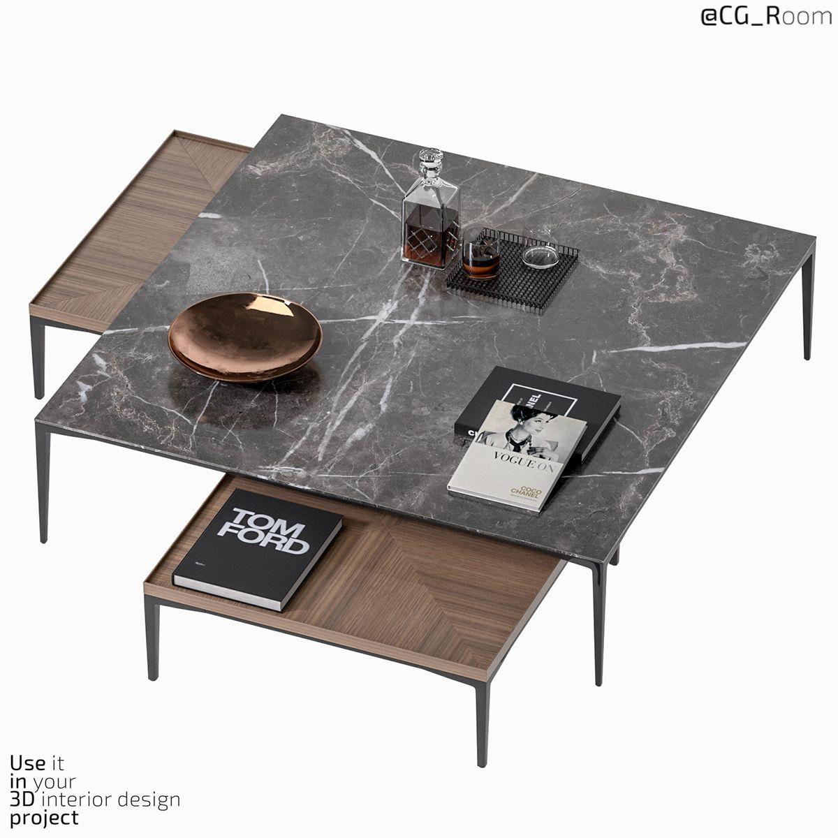Coffee Table Tray Rimadesio Coffee Table Coffee Table Wood Coffee Table Tray [ 1200 x 1200 Pixel ]